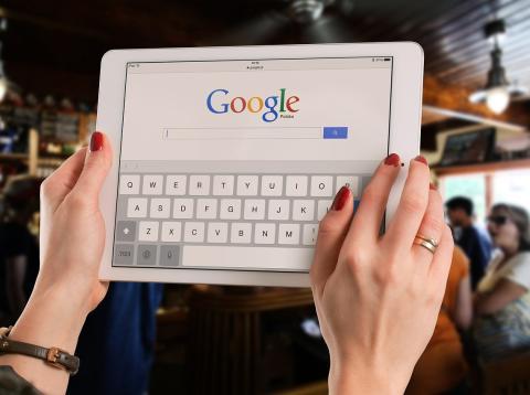 Google Search en iPad