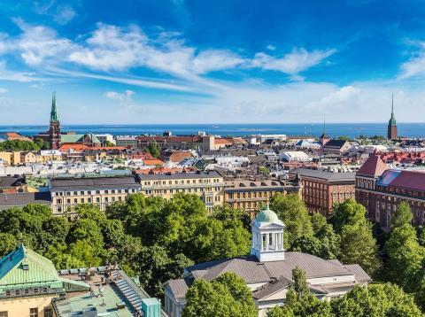 Helsinki, capital de Finlandia