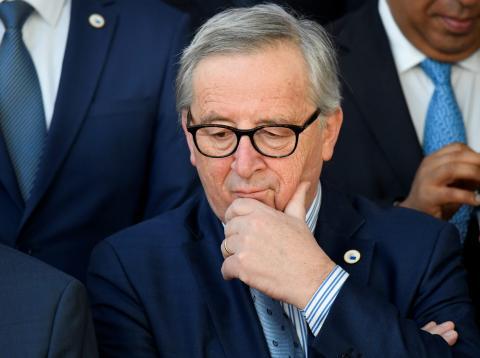 Jean-Claude Juncker, presidente de la Comisión Europea.