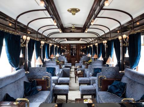 Trenes Belmond interior