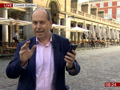 La BBC prueba el 5G