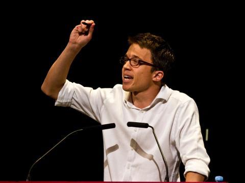 El candidato de Más Madrid a la Comunidad de Madrid, Íñigo Errejón