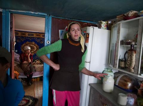 Despite the danger posed by radiation levels in the areas surrounding the Chernobyl nuclear power plant, some people still choose to live in the all-but-abandoned exclusion zone.