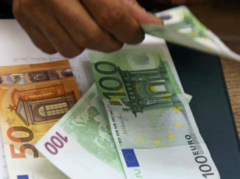 Dinero: billetes de euros