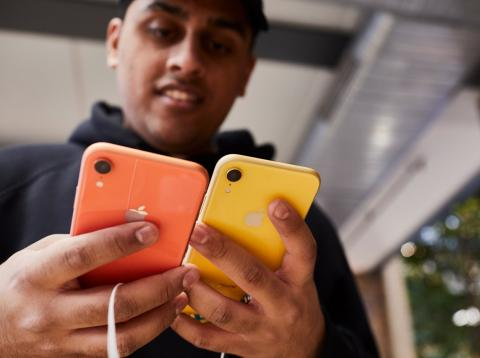 Eligiendo entre dos iPhone XR