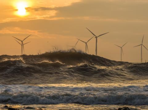 energía eólica marina