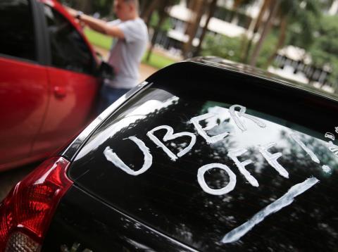 Huelga de Uber