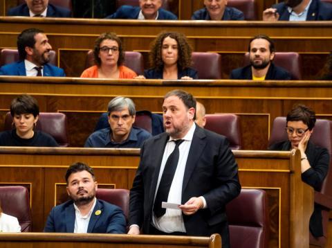 El líder de ERC, Oriol Junqueras