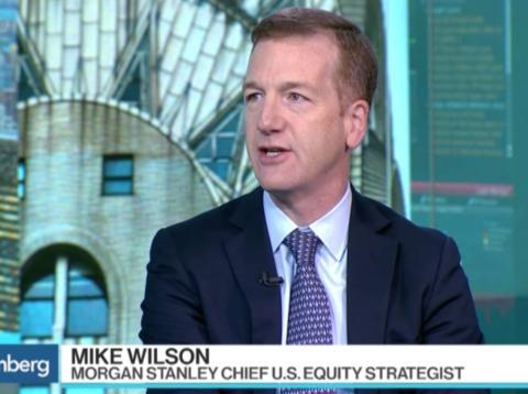 Mike Wilson, jefe de estrategia de acciones para EE.UU. de Morgan Stanley