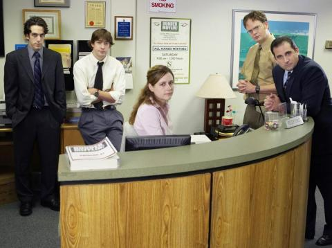 """""""The Office"""" is one of the most popular shows available on Netflix."""