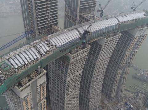 Rascacielos horizontal