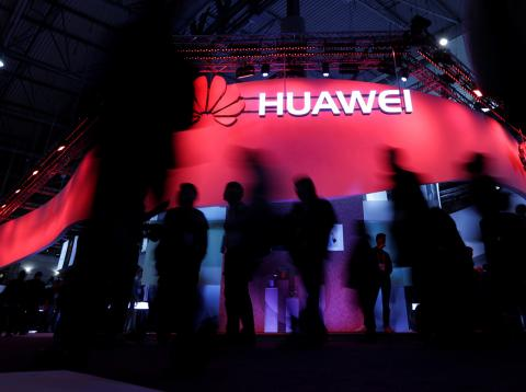 Stand de Huawei en el Mobile World Congress