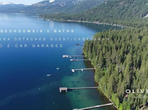 Take a look inside Mark Zuckerberg's secret $22 million Lake Tahoe estate