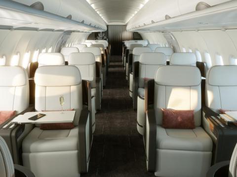 La versión actualizada tiene capacidad para 48 pasajeros y ofrece los camarotes más anchos y altos de su clase.
