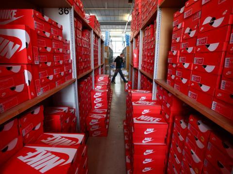 almacén Nike