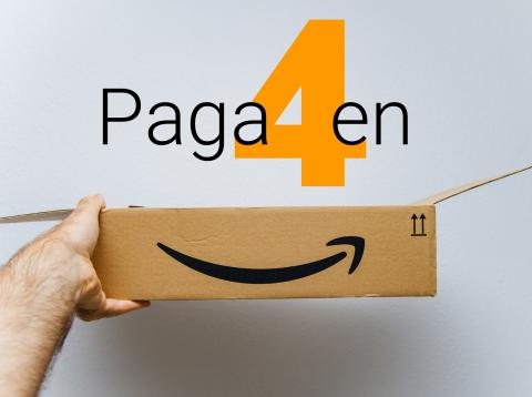 Amazon Financiación Paga en 4