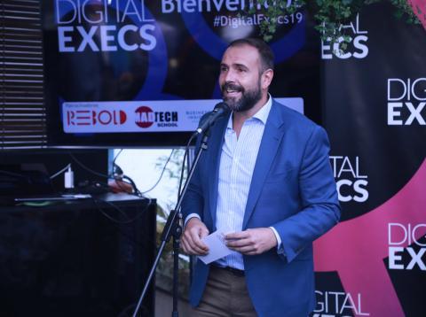 Chechu Lasheras organizador de Digital Execs.