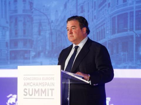 El embajador de los EEUU para España y Andorra, Richard Duke Buchan.