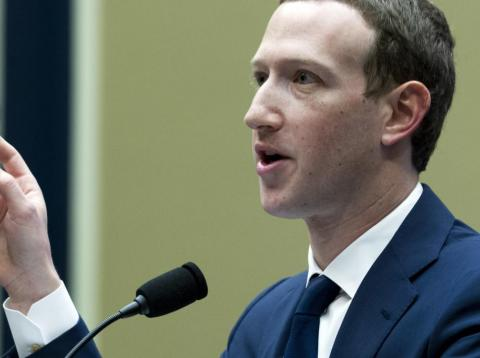 Facebook CEO Mark Zuckerberg testifies before a House Energy and Commerce hearing on Capitol Hill in Washington, Wednesday, April 11, 2018.