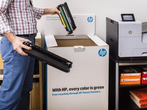 así es como HP se suma a la economía cirular y reduce resíduos