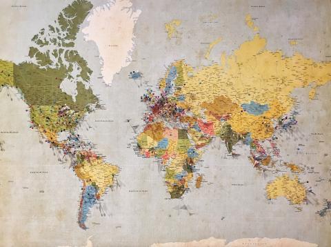 mapas increíbles sobre el mundo
