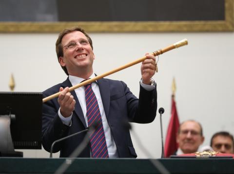 Martínez Almeida, alcalde de Madrid.