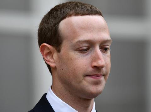 El presidente y consejero delegado de Facebook, Mark Zuckerberg