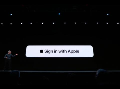 Sign in Apple iOS 13
