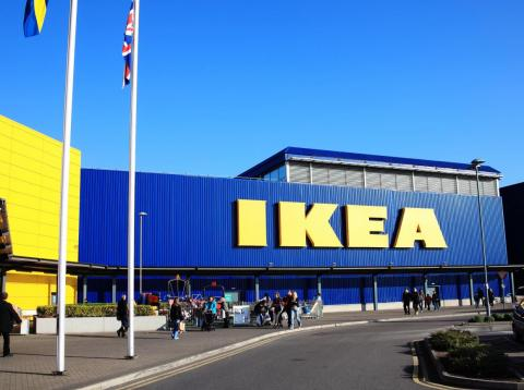There are hundreds of IKEA locations around the globe.