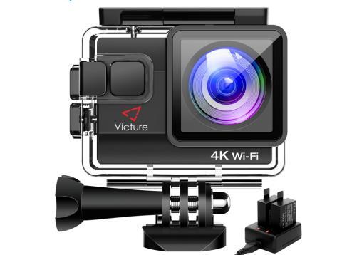 Alternativa a GoPro en Amazon que permite grabarse a mitad de precio