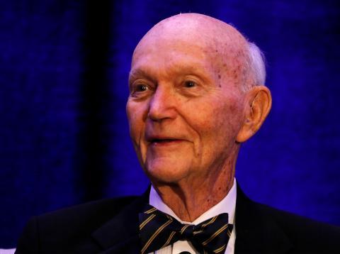 El astronauta Michael Collins, de 73 años de edad.