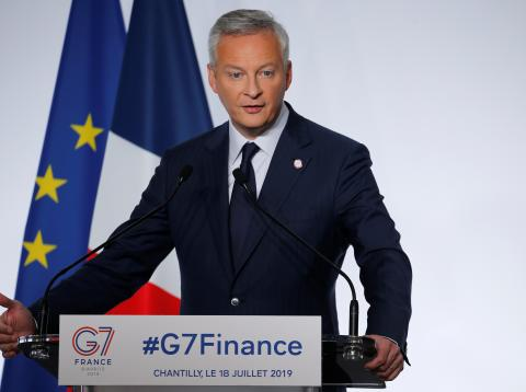 Bruno Le Maire, ministro de Finanzas de Francia.
