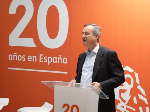 César González-Bueno, consejero delegado de ING en España y Portugal.