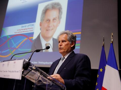 David Lipton, director interino del FMI en sustitución de Christine Lagarde