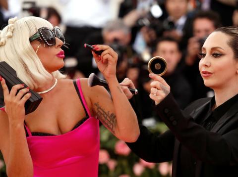 Lady Gaga en la gala del Metropolitan Museum of Art
