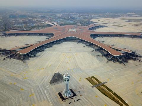 El nuevo aeropuerto de Pekín.