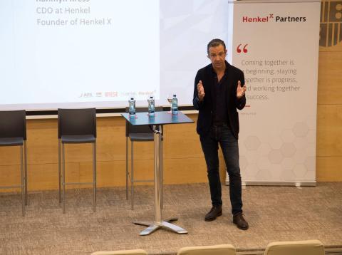 Rahmyn Kress, CDO de Henkel y fundador de Henkel X