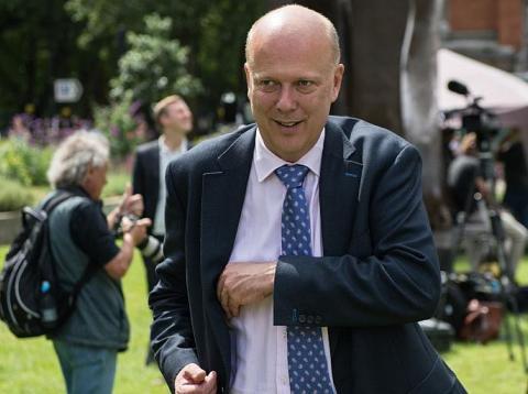 Transport Secretary Chris Grayling.