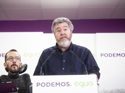 Juantxo López de Uralde, de Equo, y miembro del grupo parlamentario Unidas Podemos.