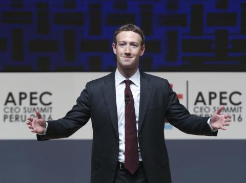 Mark Zuckerberg, chairman and CEO of Facebook.