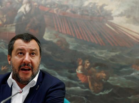 Matteo Salvini, vicepresidente y Ministro del Interior de Italia