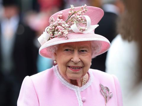 La reina de Inglaterra Isabel II.