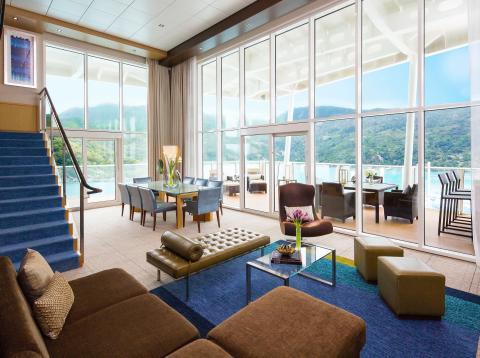 Las  suites de crucero más grandes y lujosas del mundo