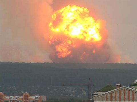 Explosión rusa tras un ensayo nuclear