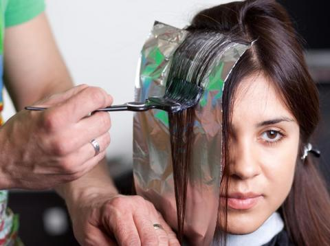 There are more than 5,000 chemicals in hair dye.