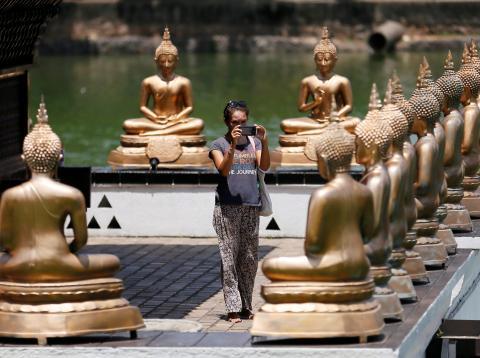 Turista en Sri Lanka