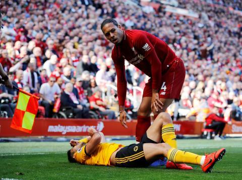 Virgil van Dijk, defensa del Liverpool