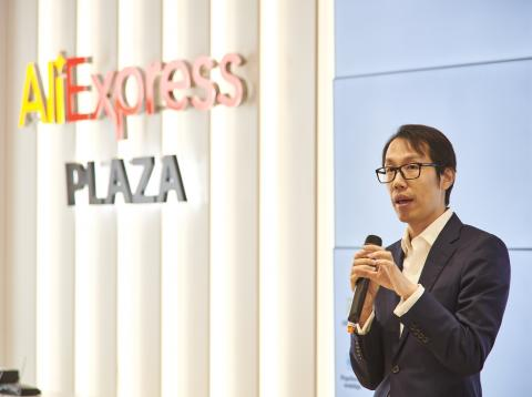 William Wang, director general de AliExpress para España y Portugal.
