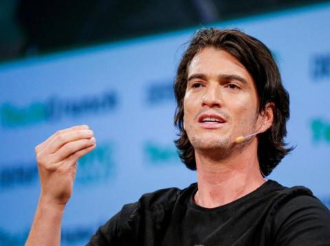 Adam Neumann, the CEO of WeWork.