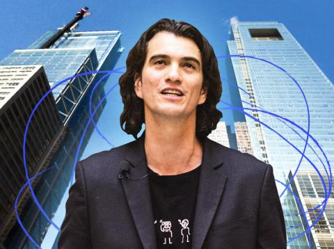 Adam Neumann is stepping down as WeWork's CEO, capping a shocking downfall. WeWork will name two of its execs to run the show while it hunts for a permanent leader.